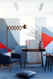 wandgestaltung mit farbe 35 nuancen blau