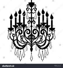 Chandelier Silhouette Clip Art Jescatfo S U Photoshop Brushes Black Wedding