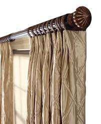 Curtain Rod Set India by Curtain Rods All African Timber Pertaining To Decorative Curtain