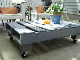 VIEW IN GALLERY Stunning Cool Outdoor Pallet Coffee Table