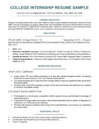 Resume Examples For College Students With No Work Experience Pdf