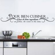 stickers cuisine phrase stickers muraux pour cuisine transfert mural pour cuisine