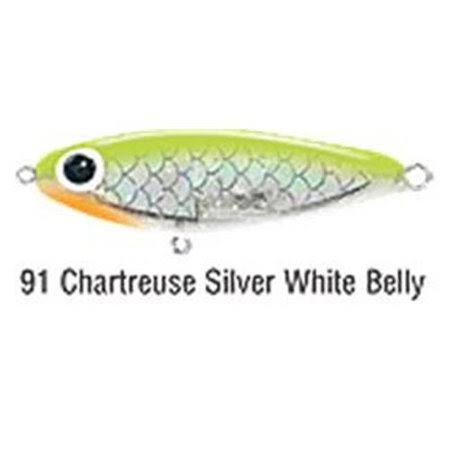 "B&L Paul Brown's Soft Dine XL 3.25"" 5/8oz - Chartreuse"