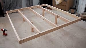 bed frame diy wood platform bed frame uoixwos diy wood platform