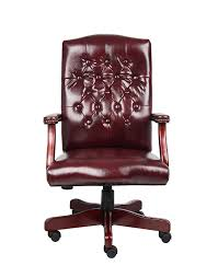 Boss Office Products B905-BY Classic Executive Caressoft Chair With  Mahogany Finish In Burgundy Boss Leatherplus Leather Guest Chair B7509 Conferenceexecutive Archives Office Boy Products B9221 High Back Executive Caressoftplus With Chrome Base In Black B991 Cp Mi W Mahogany Button Tufted Gruga Chairs Romanchy 4 Pieces Of Lilly White Stitch Directors Conference High Back Office Chair Set Fniture Pakistan Torch Guide How To Buy A Desk Top 10 Boss Traditional Black Executive Eurobizco Blue The Best Leather Chairs Real Homes