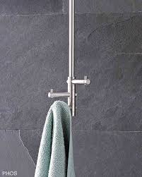 handtuchhalter und handtuchstangen in zeitlosem edelstahl design