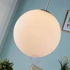 hängeleuchte marike lenwelt kugel opalglas weiß