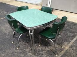 Ebay Chairs And Tables by 1950s Diner Dining Room Kitchen Formica U0026 Chrome Table 4 Chairs