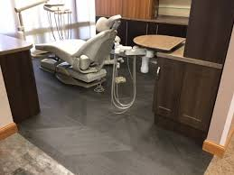 Patcrafts Wood Planx Resilient Flooring At A Dentist Office