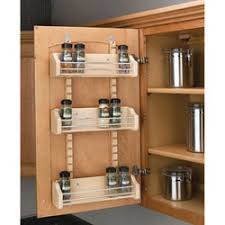 Adjustable Door Mount Spice Rack By Rev A Shelf