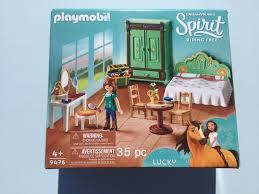 9476 playmobil luckys schlafzimmer spirit free