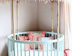 Round Bassinet Bedding by Cascara Modern Bassinet Can Give A Unique And Stylish Look To Any