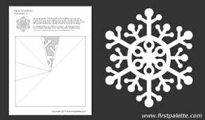 Paper Snowflake Template 1