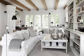 Modern Living Room With Rustic Accents Decor