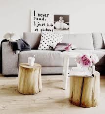 deco tronc d arbre table en rondin de bois un tronc peut en caché un autre home info