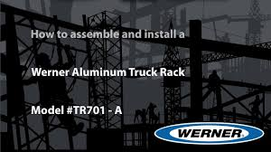 Werner Ladder - How To Install A Werner TR701-A Aluminum Truck Rack ... Ladder Racks For Box Trucks Alinum Rack More Views Ultimate F150ladderrrainumtrushoppickupspecialtiesf Vantech P3000 For Honda Ridgeline 2017 Catalog Untitled Document Discount Ramps Apex Heavy Duty Universal Utility Vantech Truck Pinterest Archives Ladders Inc Winch Bumpers Roof Tire Carriers Aluminess Conduit Carrier Kit Rola Haulyourmight Bed Pickup Overview System One With Double Folding Kayak Aaracks Www Model Ax25 Extendable Pickup White
