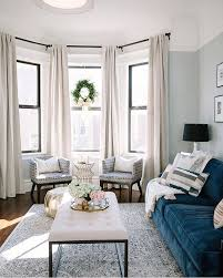 Curtain Ideas For Living Room Pinterest by Best 25 Bay Window Curtains Ideas On Pinterest Bay Window