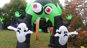 Airblown Halloween Inflatable Archway Tunnel by 100 Halloween Inflatable Entrance Corn Maze Entrance
