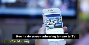 How to do screen mirroring iPhone to Samsung TV Here is how you