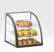 Home Food Service Bakery Displays Brown Iron Display Case