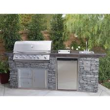 Best Outdoor Sink Material by Bbq Islands Costco