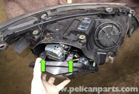 bmw e60 5 series xenon headlight replacement 2003 2010 pelican