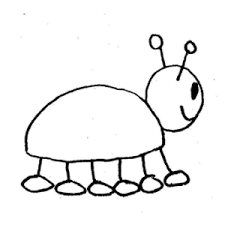 bug clipart black and white june bug clipart kid Clip Art Net
