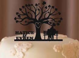 Fall Sale Custom Wedding Cake Topper