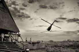 100 Flying Cloud Camp Helicopter Safaris Across Botswana Journeys By Design