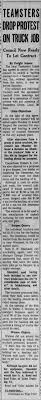 100 Sargent Trucking Quarry Bid Accepted Article Page One 1957 Newspaperscom