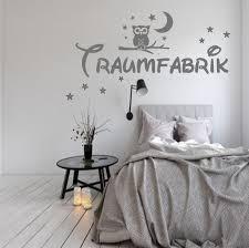 wandtattoo wandaufkleber traumfabrik eule schlafzimmer wall