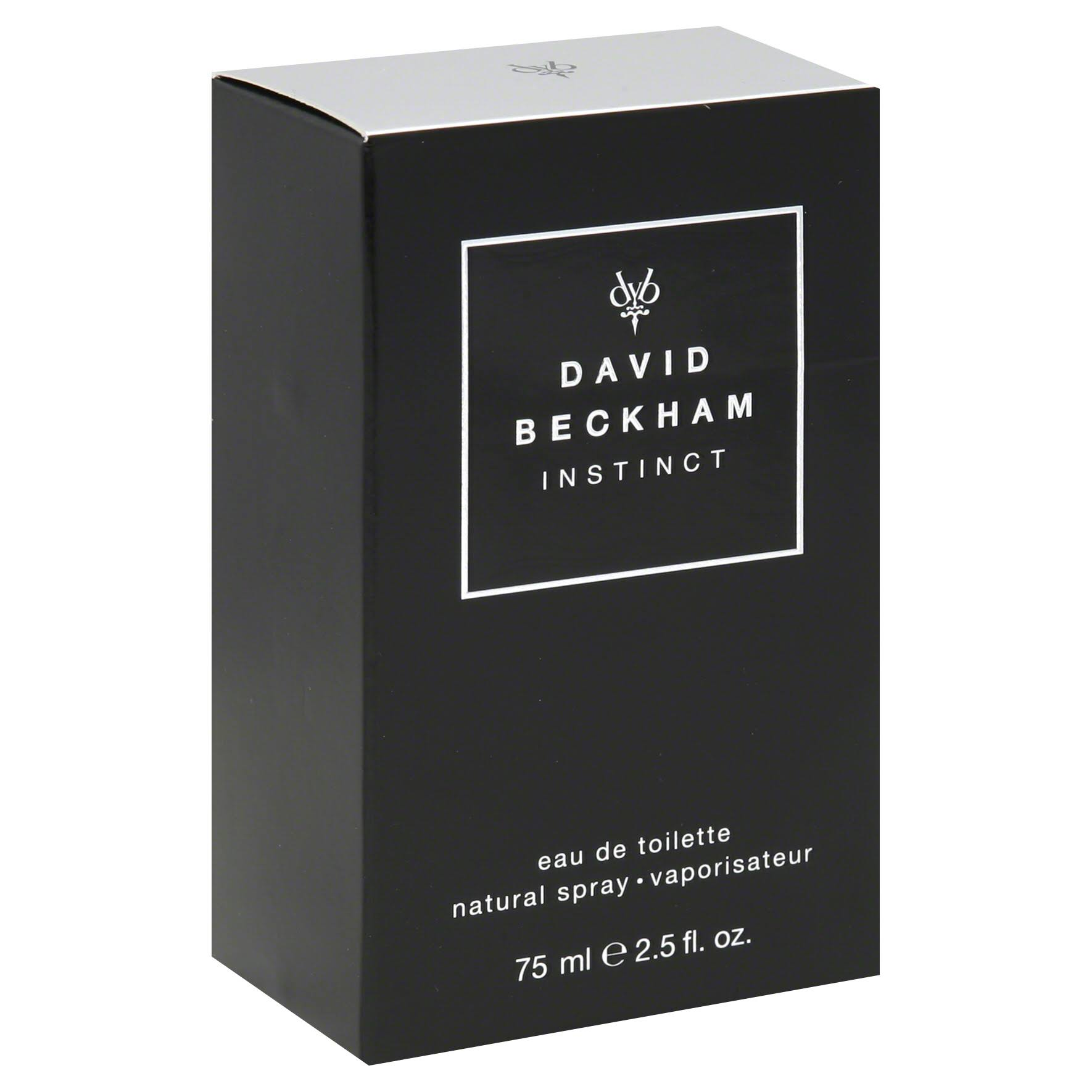 David Beckham Men's Natural Cologne Spray - Instinct, 2.5oz
