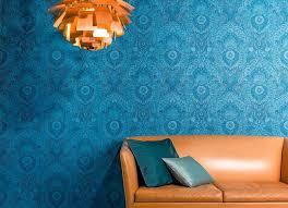 papier peint luska bleu tapetenmuster tapeten design tapeten