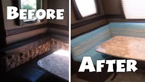 RV Dinette Cushion Recover