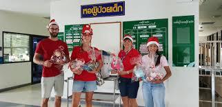 100 Banglamung Christmas At Hospital Take Care Kids Onlus And Foundation