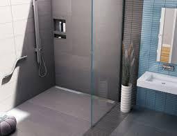 tile redi recessed shower shelf bathroom utensils asymmetrical in