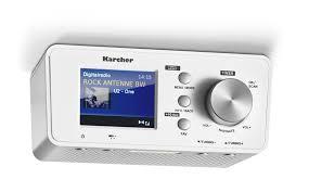 karcher ra 2035d unterbauradio mit dab ukw radio je 20 senderspeicher bluetooth wecker dual alarm countdown timer led licht
