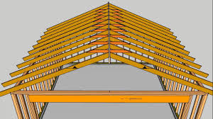Vaulted Ceiling Joist Hangers by What Are Roof Rafter Collar Ties U2013 House Framing Parts Youtube