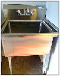 stainless steel utility sink for laundry room home design ideas