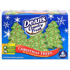 Deans Country Fresh Christmas Tree Mint Lowfat Ice Cream Tre18 Fl Oz