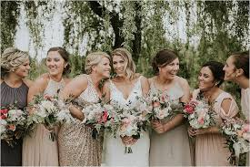 Stunning Spring Bridal Party