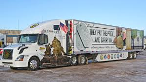 Superior-based Halvor Lines Shows Off New Truck Honoring Veterans ...