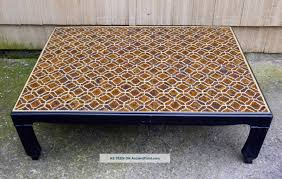 asian coffee table mosaic tile coffee table diy mosaic coffee