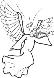 Free Guardian Angel Coloring Pages For Preschool Page Prayer Full Size