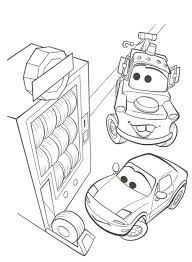 Cars Inspirational Cars2 Coloring Pages