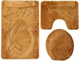 badvorleger teppiche toilettensitzabdeckungen delphin in