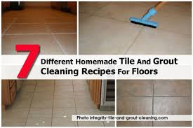 7 different tile and grout cleaning recipes for floors