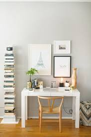 Ikea White Wooden Desk Chair by White Gold Desk Chair Best Feminine Office Ideas On Pinterest