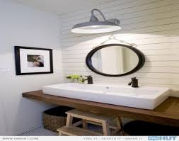 bathroom trough sink with two faucets pictures decorations