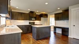 Cabinet Refinishing Tampa Bay by Paint Or Stain Kitchen Cabinets Remodel Your Kitchen On A Budget
